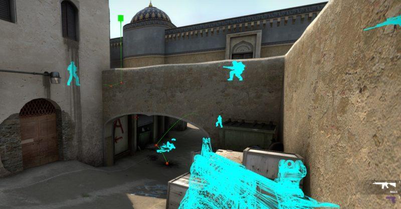 Траектория полета гранаты