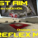 FAST AIM/REFLEX TRAINING MAP (SP vs Bot Map) / aimtraindriving V4 [DUST2]