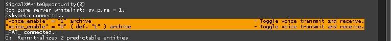 Две строки которые автоматически прописываются в консоли когда вы нажимаете кнопку
