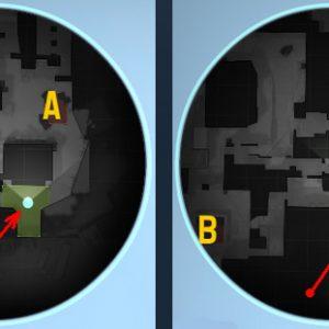 Размер иконок на радаре при изменении значения cl_radar_icon_scale_min