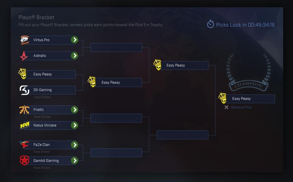 Pick'Em Challenge Playoffs