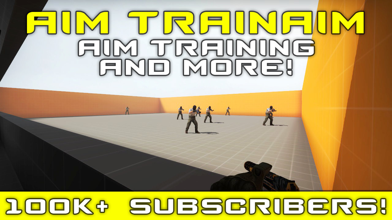 Скриншот карты кс го Aim TrainAim #1