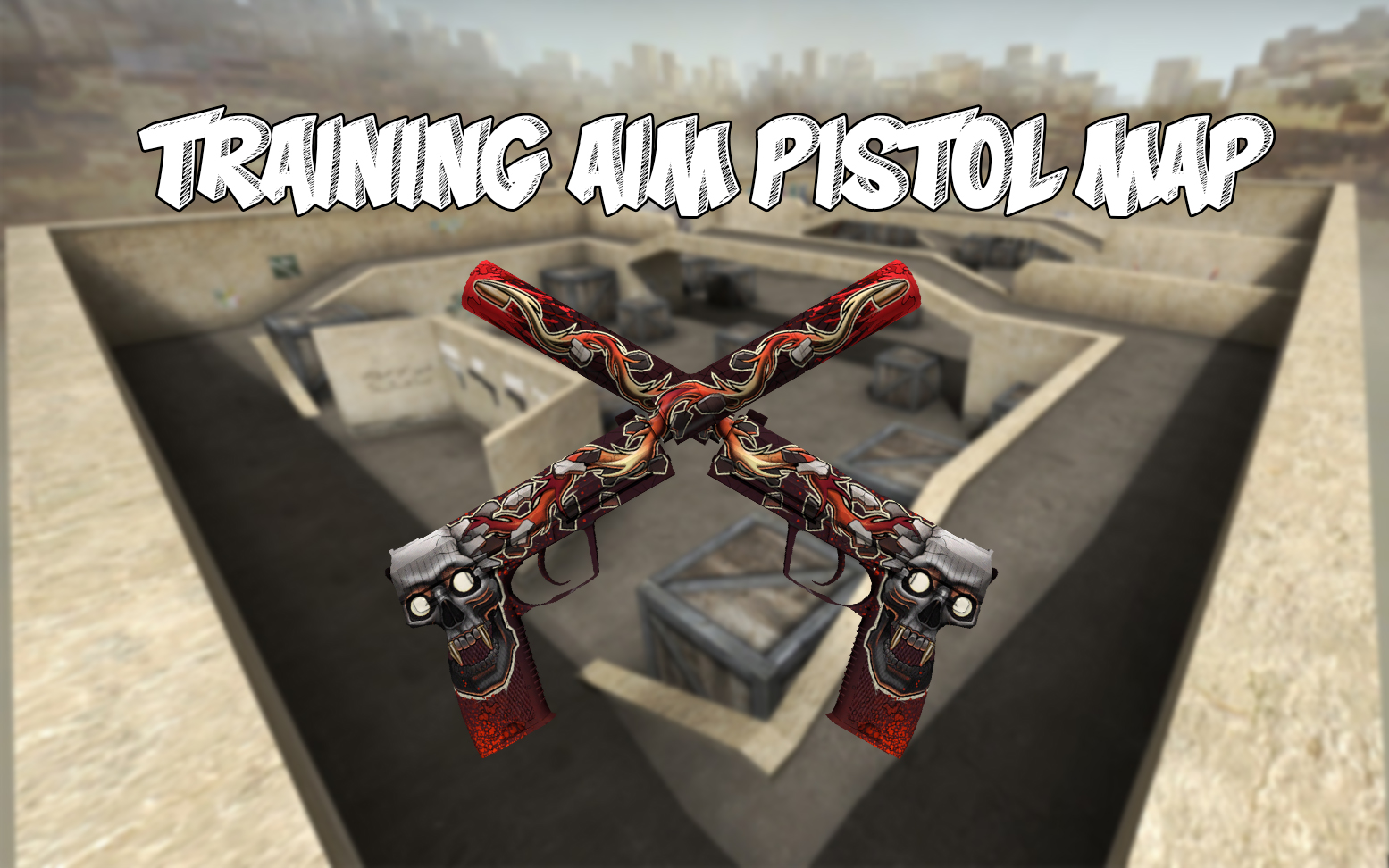 Training aim pistol MAP - Карта для КС ГО