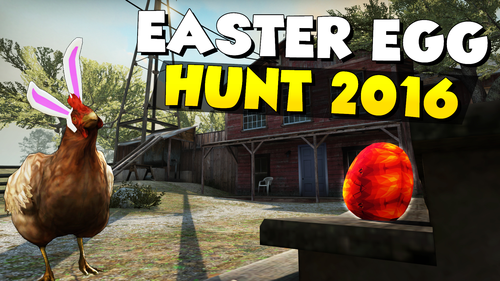 Скриншот карты кс го Easter Egg Hunt 2016 by TrilluXe #1