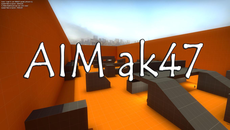 AIM ak47 - Карта для КС ГО