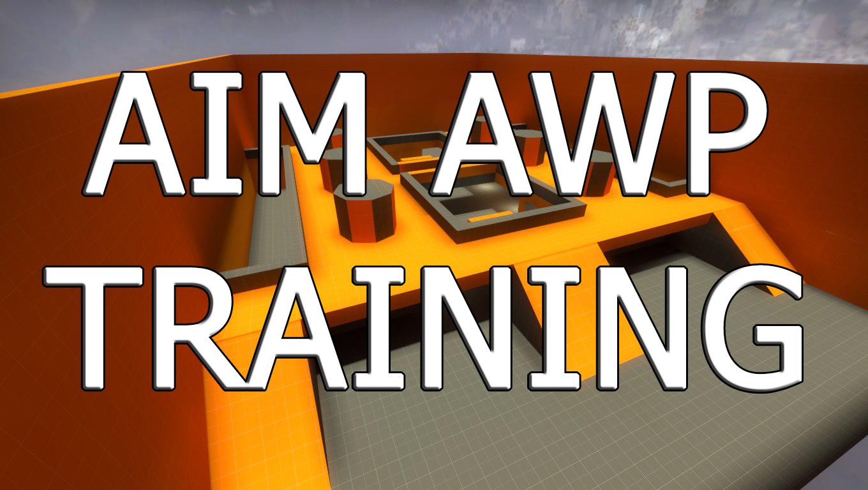 AIM AWP TRAINING - Карта для КС ГО